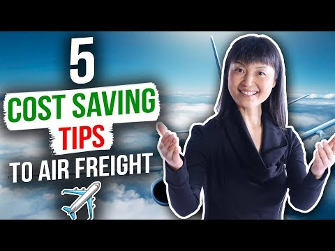 How to Save Money when Air Shipping A Product For Amazon FBA